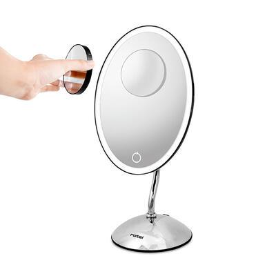 rotel Kosmetikspiegel beleuchtet oval