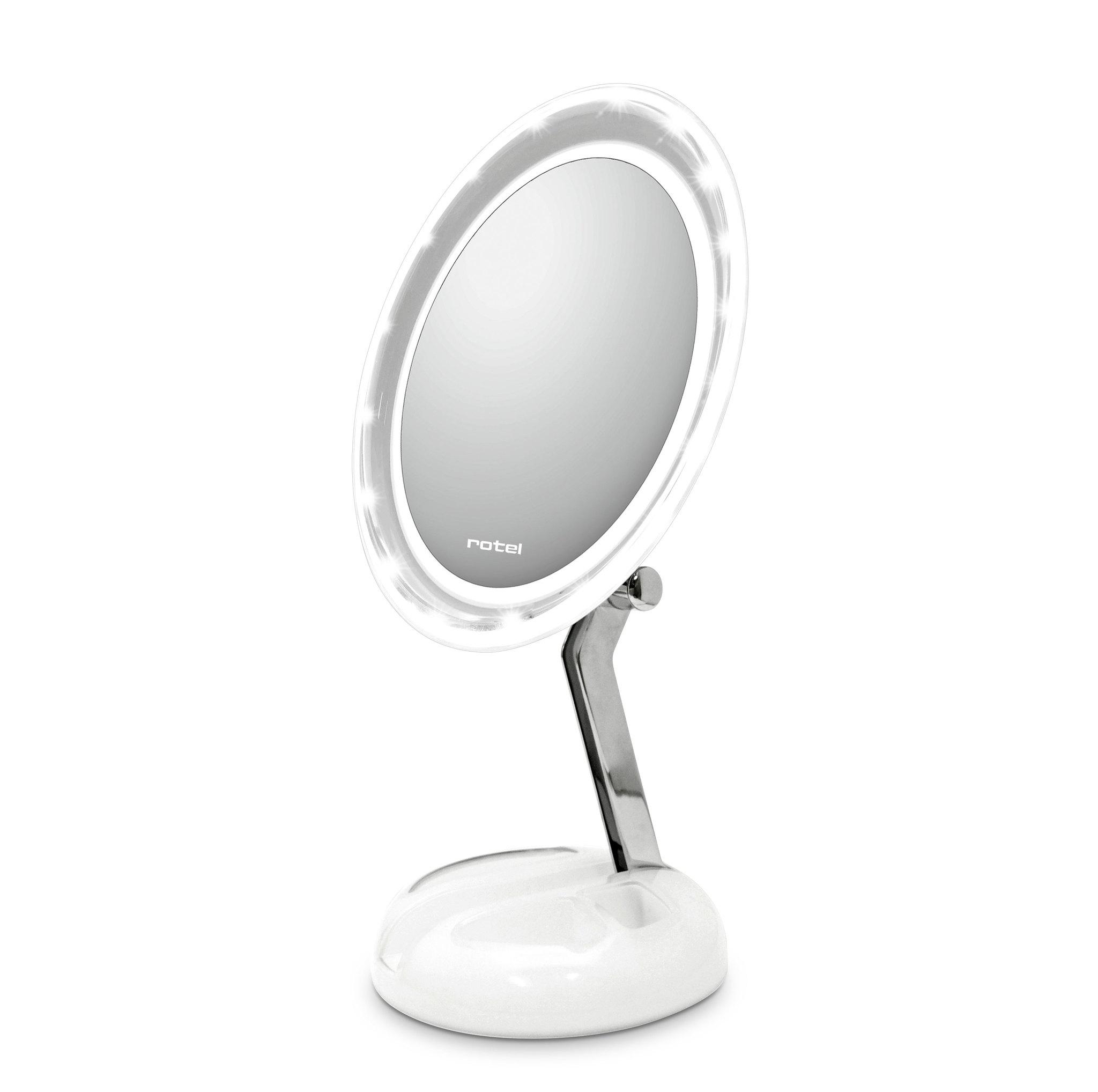 rotel Kosmetikspiegel beleuchtet faltbar