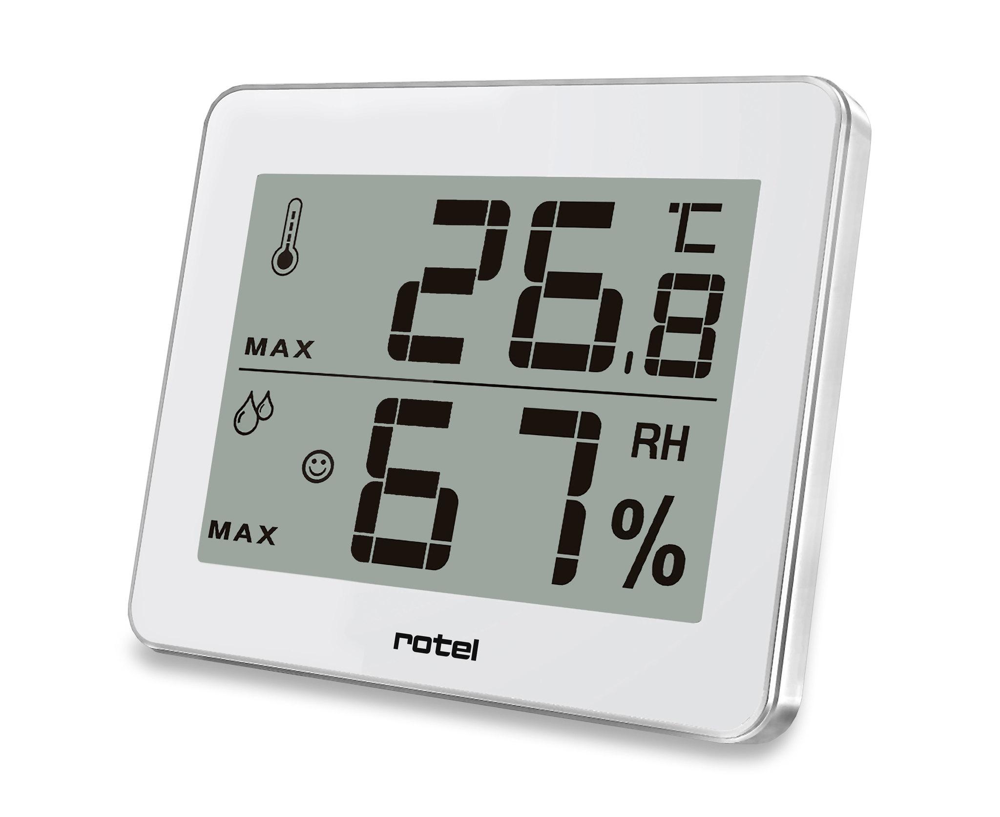rotel Thermo-Hygrometer digital